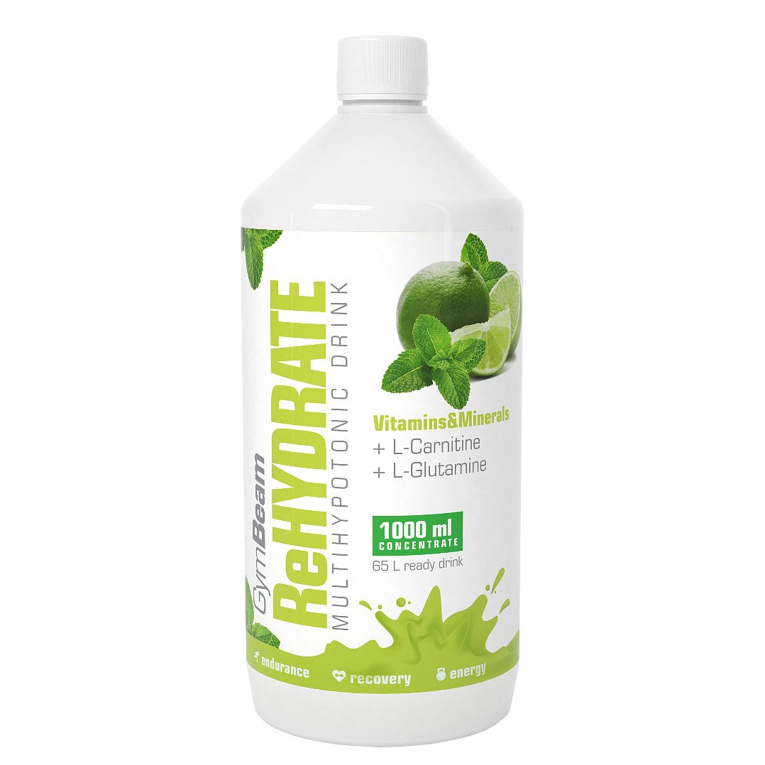 GymBeam ReHydrate mojito 1000ml