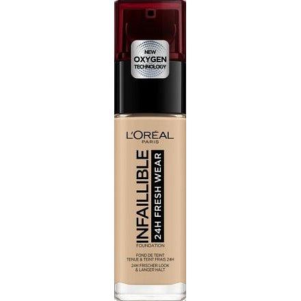 L´Oréal Paris Infaillible Fresh Wear dlouhotrvající tekutý make-up 125 Natural Rose 30ml