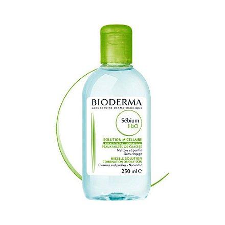 BIODERMA Sébium H2O – micelární odličovací voda 250ml