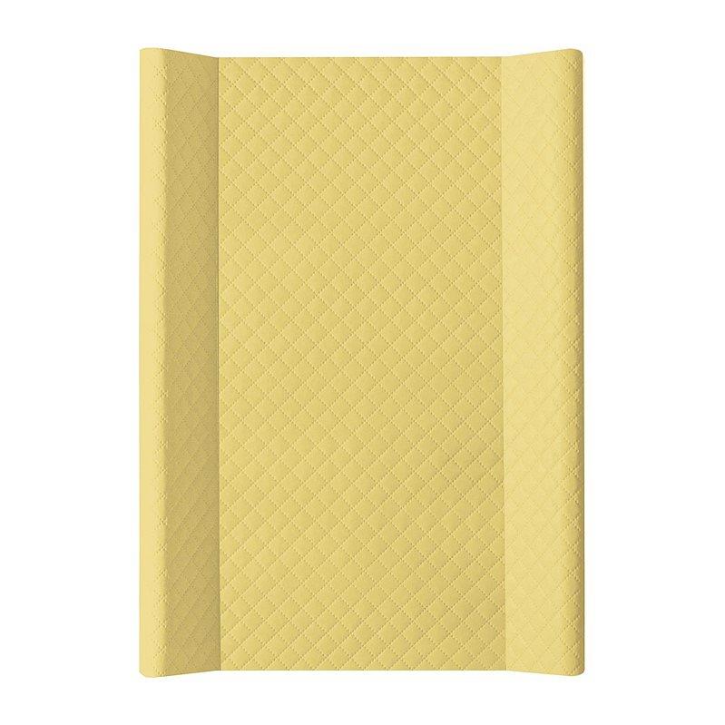 CEBA Podložka přebalovací 2-hranná MDF 70x50 cm CARO Mustard Ceba