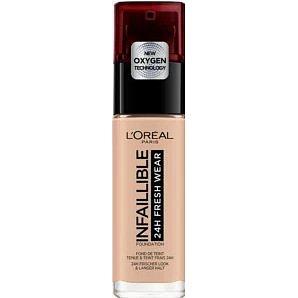 L´Oréal Paris Infaillible Fresh Wear dlouhotrvající tekutý make-up 110 Rose Vanilla 30ml