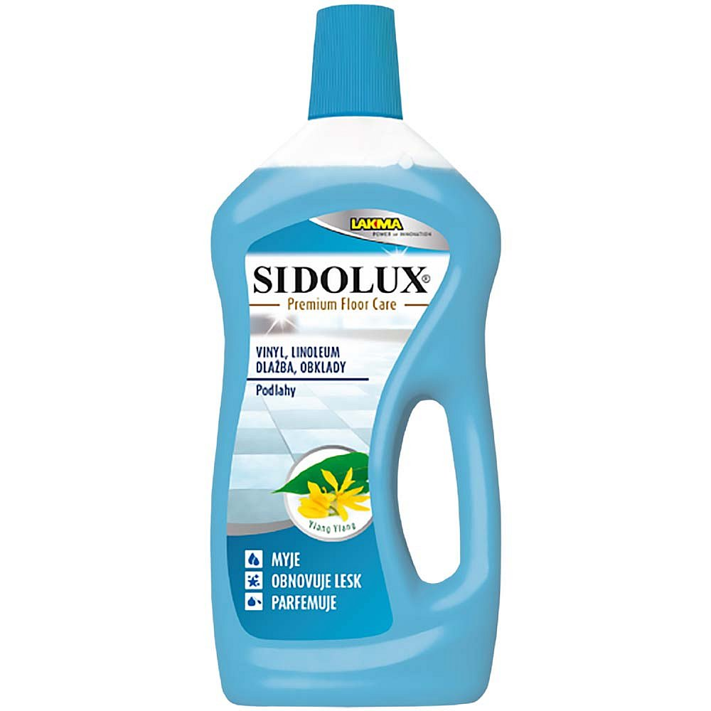 SIDOLUX EXPERT na mytí PVC, obkladů, dlažby 750 ml