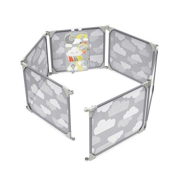 SKIP HOP Ohrádka / zábrana 2v1 rozšiřitelná - grey - 6m +