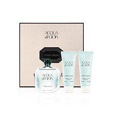 ARMANI Acqua di Gioia Dárková sada dámská parfémovaná voda 100 ml, tělové mléko Acqua di Gioia 75 ml a sprchový gel Acqua di Gioia 75 ml
