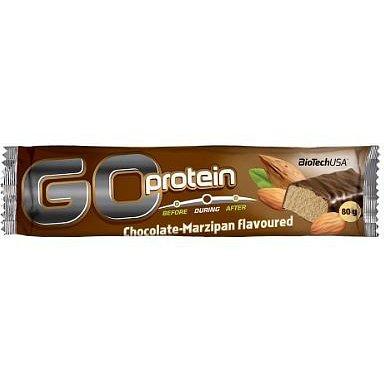BiotechUSA Go Protein Bar 21x80g Chocolate-Marzipan