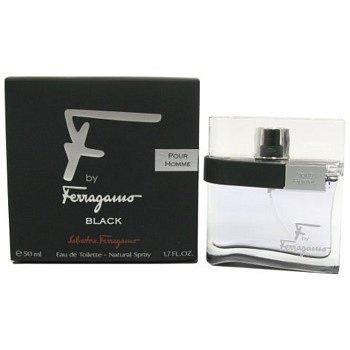 Salvatore Ferragamo F by Ferragamo Black toaletní voda pro muže 30 ml