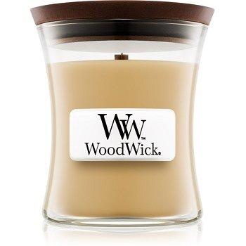 Woodwick At The Beach vonná svíčka 85 g s dřevěným knotem