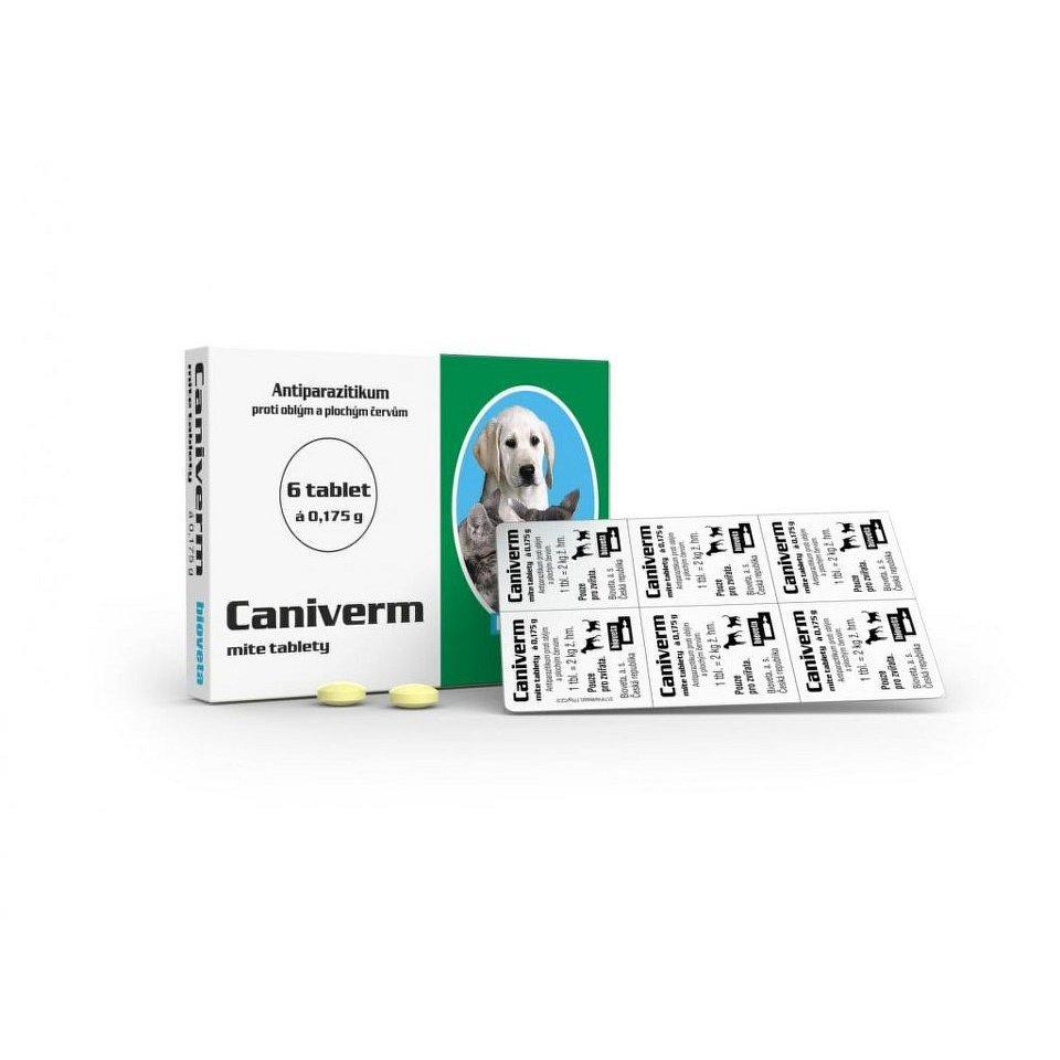 CANIVERM A.U.V. TBL 6X175MG