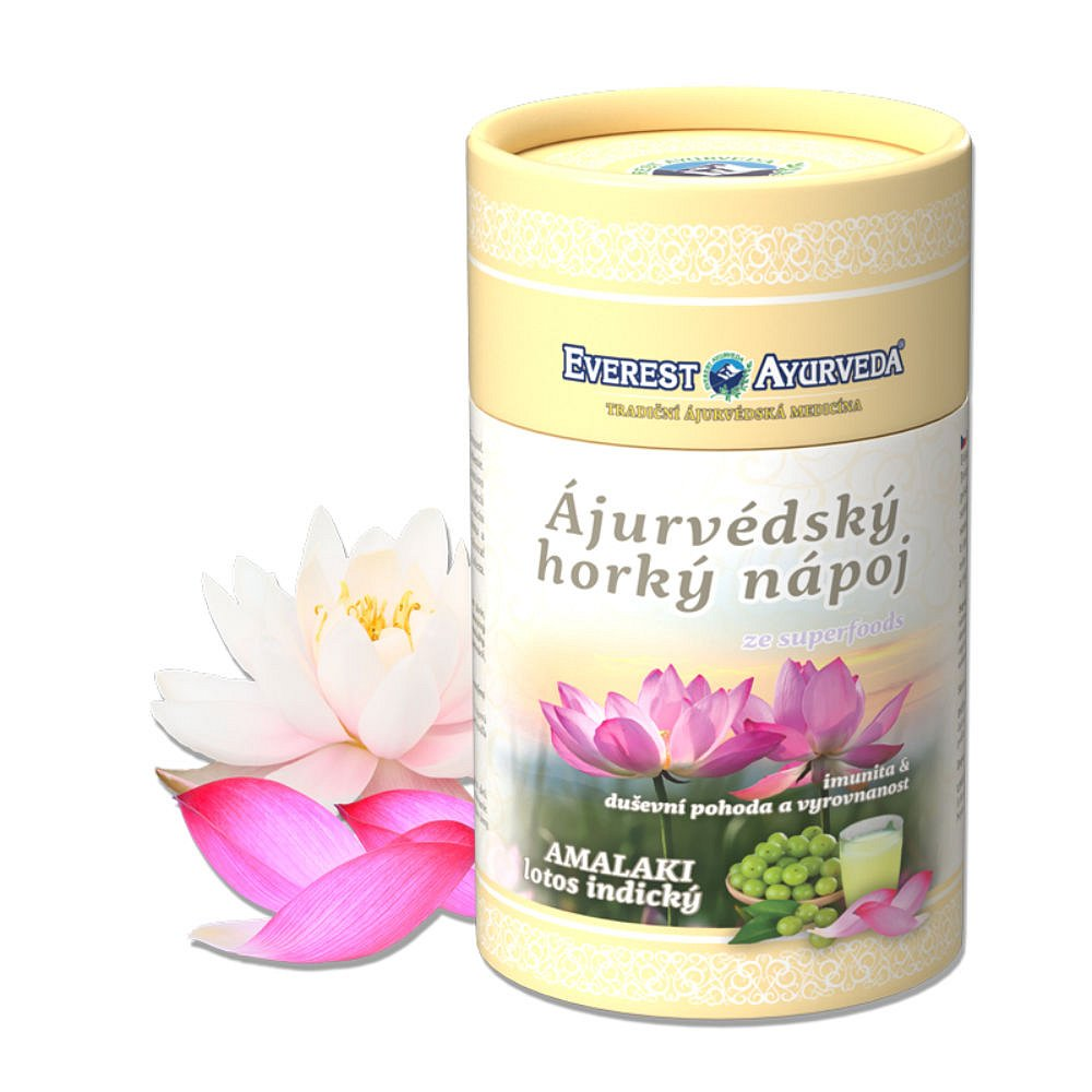 EVEREST AYURVEDA Amalaki Lotos indický sypaná směs 100 g