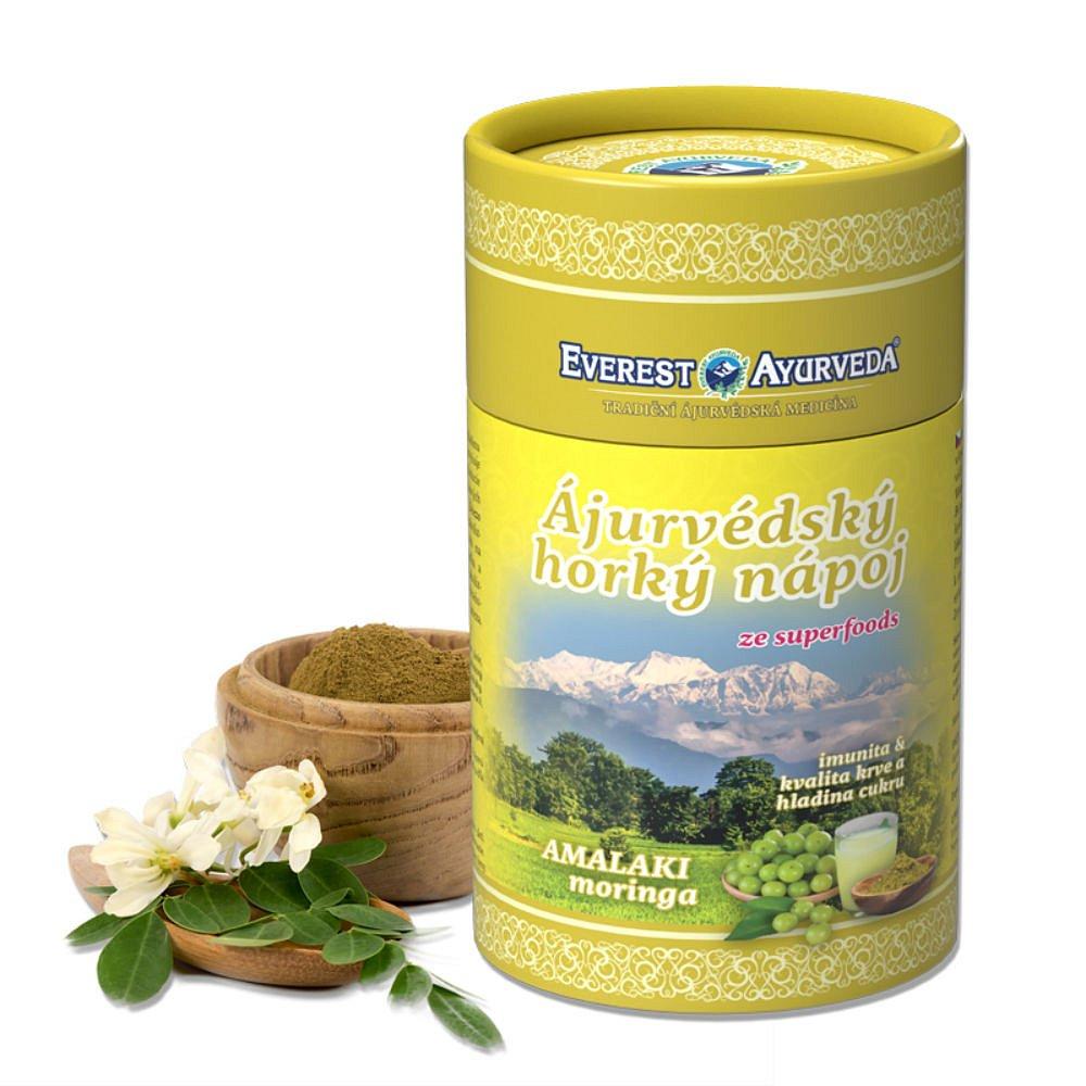 EVEREST AYURVEDA Amalaki Moringa olejodárná sypaná směs 100 g