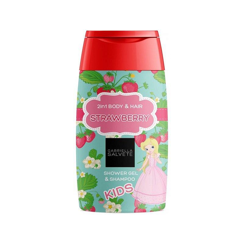 Gabriella Salvete Sprchový gel pro děti 2v1 Strawberry 300ml