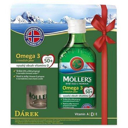 Möllers Omega 3 50+ 250ml dárkové balení