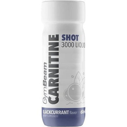 GymBeam Carnitine 3000 Liquid Shot bBackcurrant 60ml
