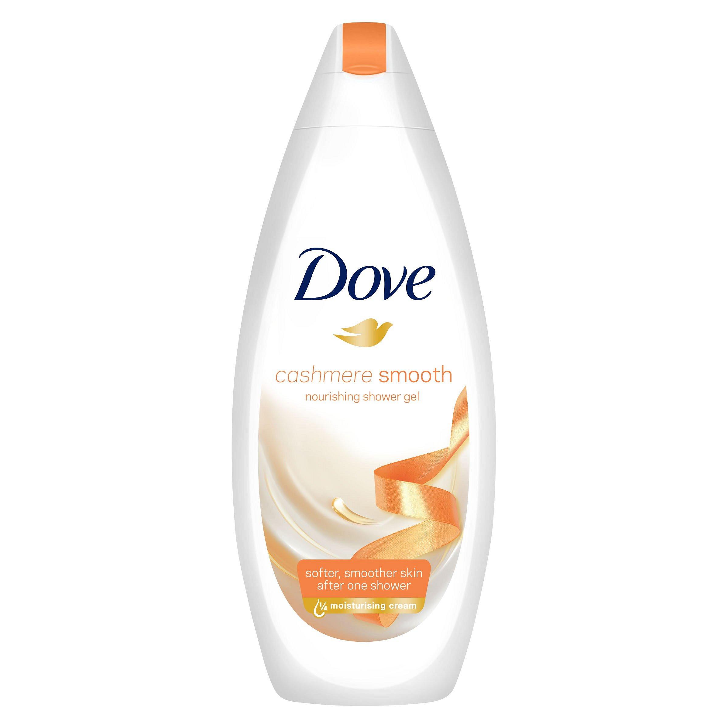 Dove Cashmere Smooth sprchový gel  500 ml