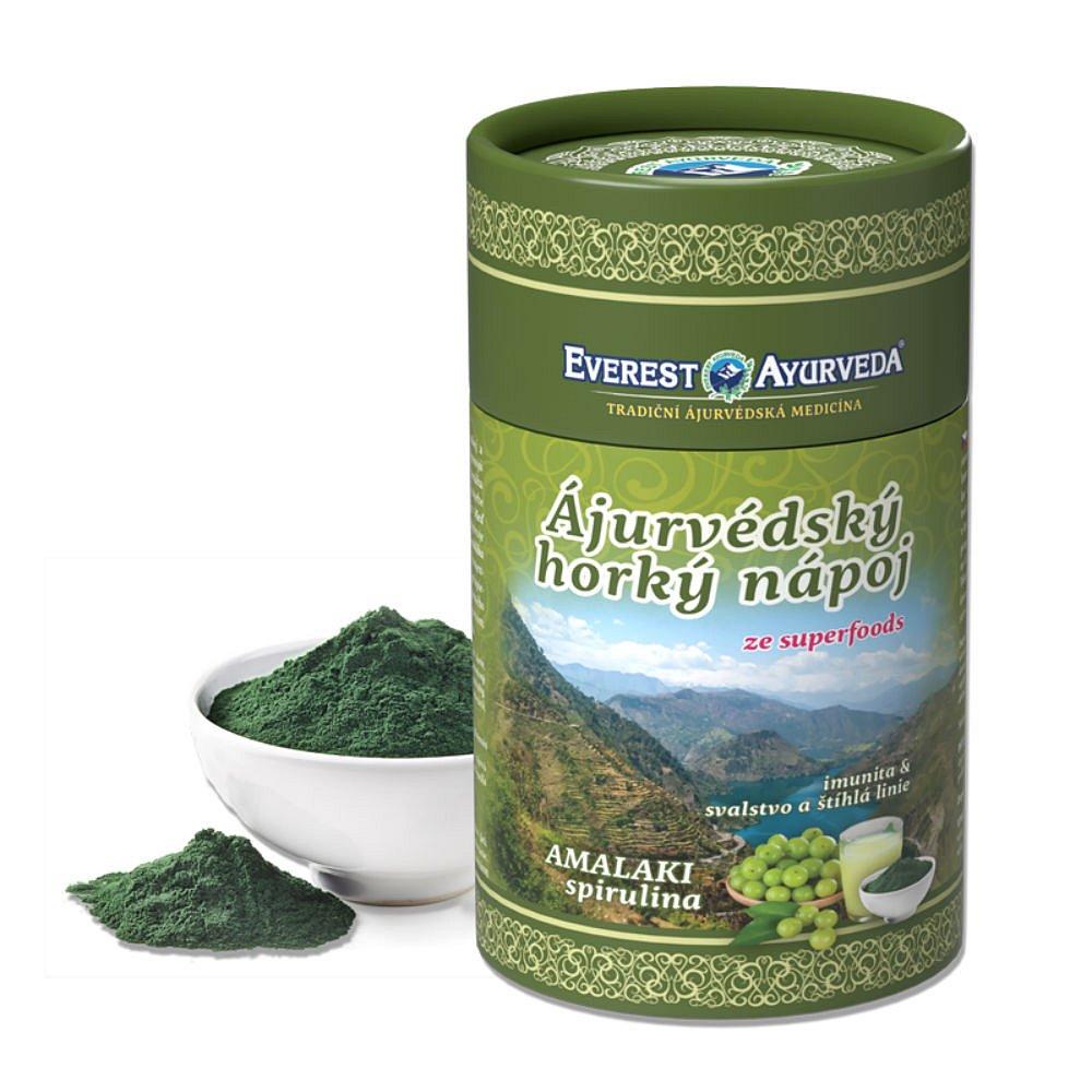 EVEREST AYURVEDA Amalaki Spirulina sypaná směs 100 g