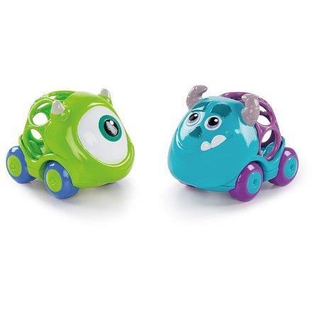 Oball autíčka Monsters Go Grippers 2ks