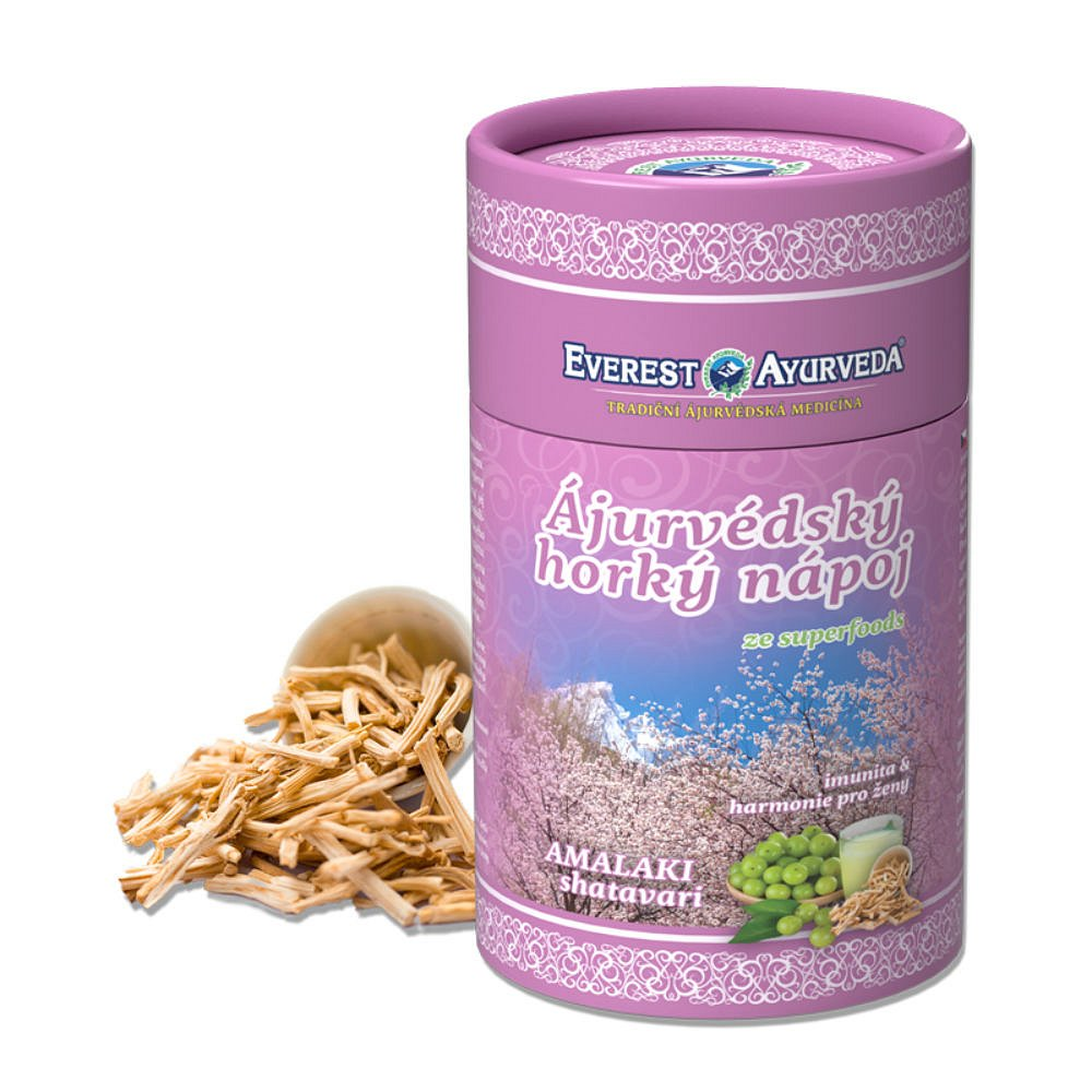 EVEREST AYURVEDA Amalaki Chřest hroznovitý sypaná směs 100 g