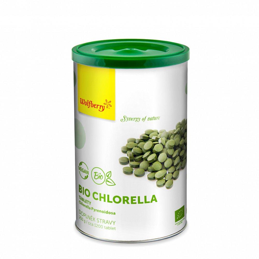 WOLFBERRY Chlorella BIO 1200 tablet