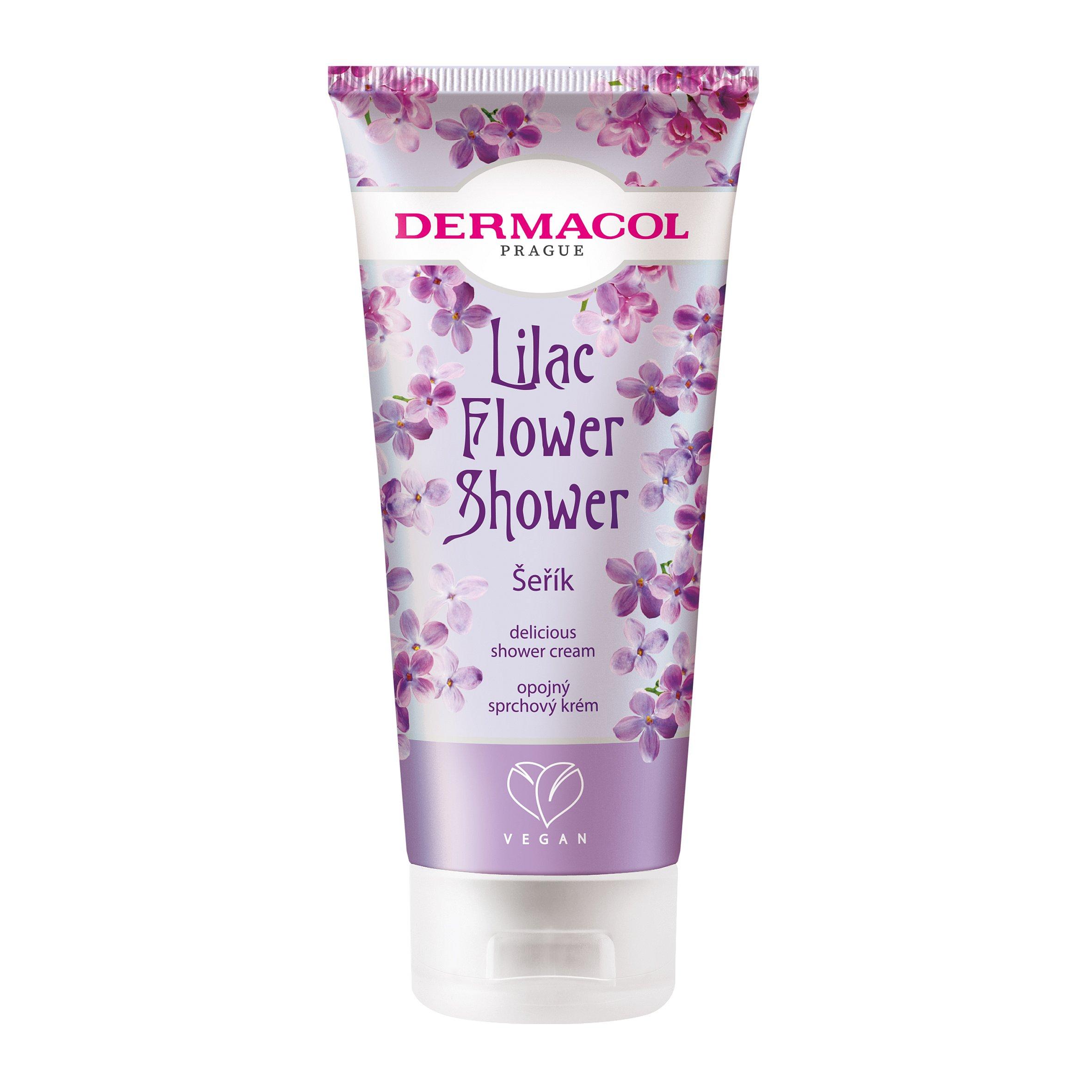 Dermacol Flower shower Opojný sprchový krém Šeřík 200ml