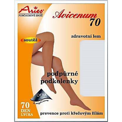 Avicenum70 podkolenky 25-27 těl.sv.