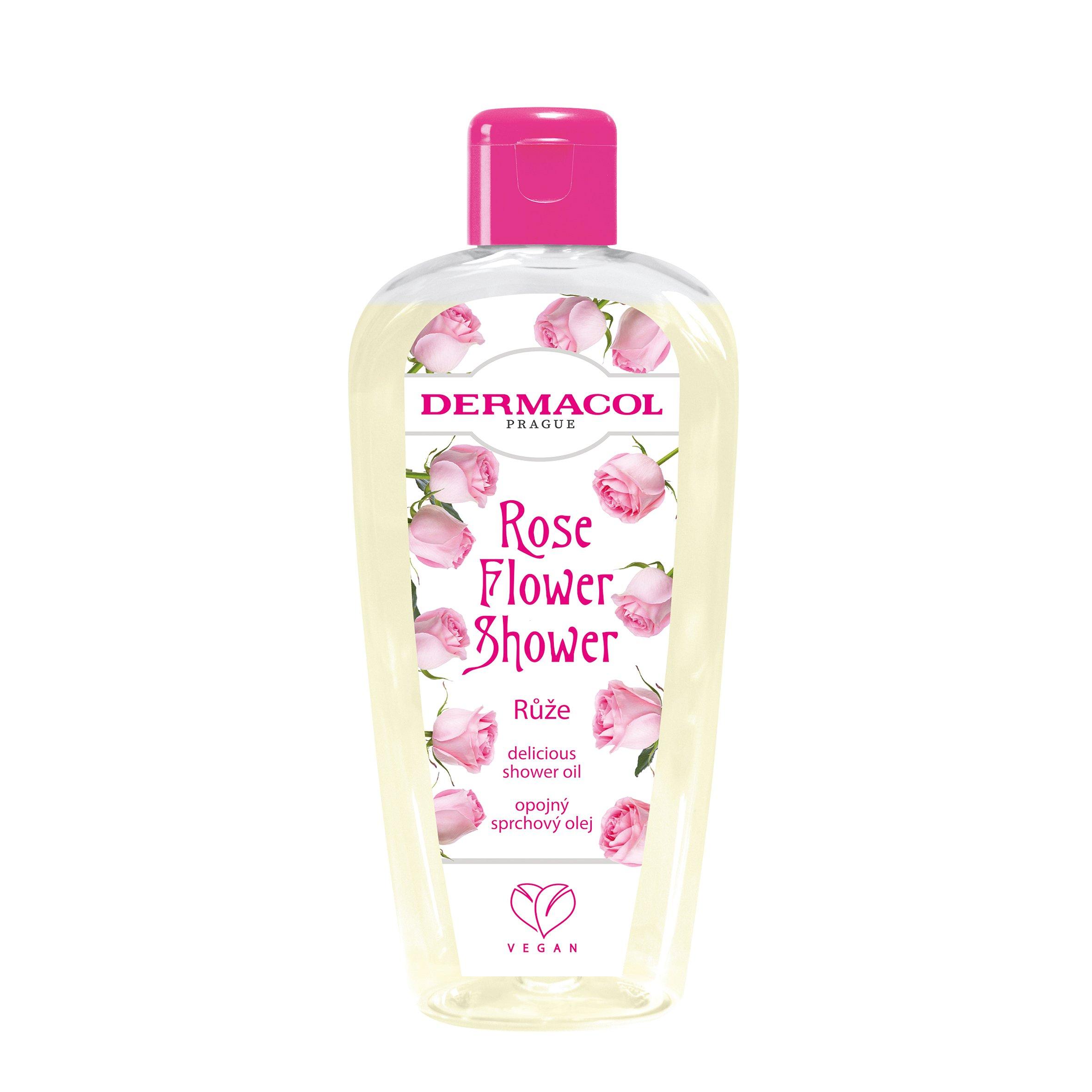 Dermacol Flower shower Opojný sprchový olej Růže 200ml