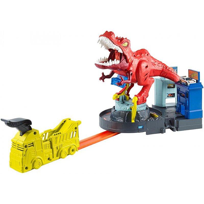 Mattel HW City T-REX řádí