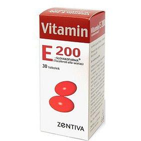 Vitamin E 200 Zentiva perorální orální tobolky měkké 30 x 200 mg