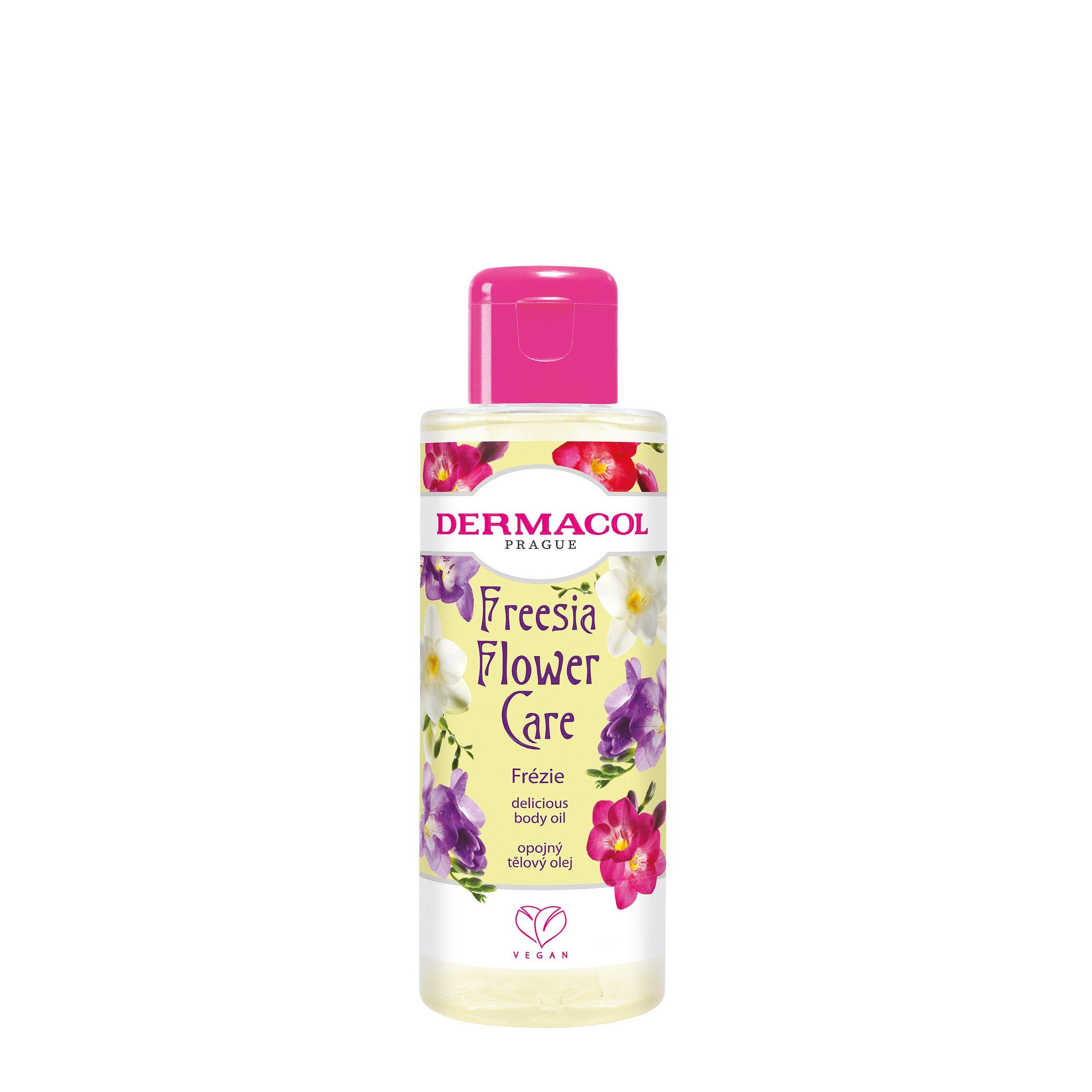 Dermacol Flower care Opojný tělový olej Frézie 100ml