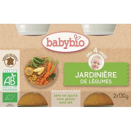 BABYBIO zeleninová směs 2x130g