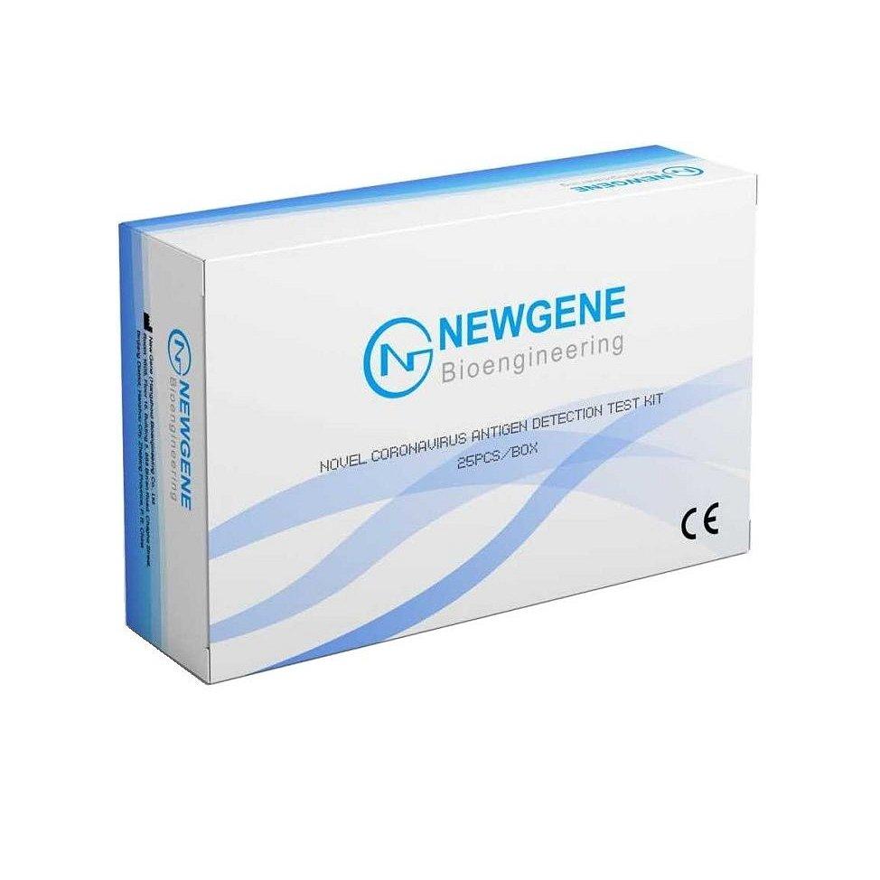 25x Testy na Covid NEWGENE Novel Coronavirus Detection