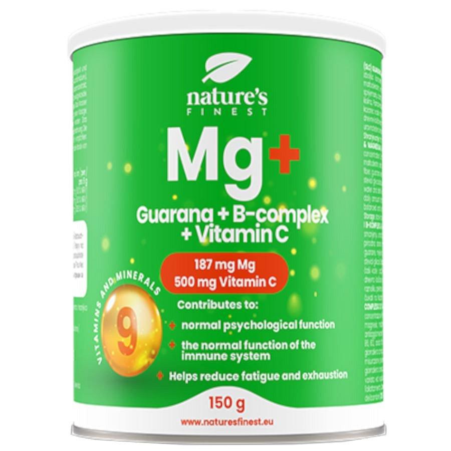 Nutrisslim Magnesium + Guarana + B-Complex + Vitamin C 150g