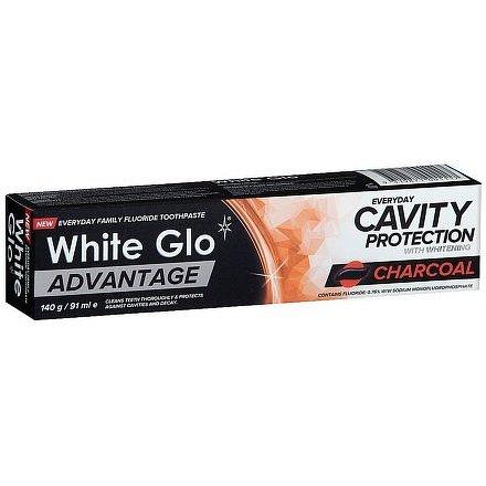 White Glo Charcoal bělící zubní pasta 140g/91 ml