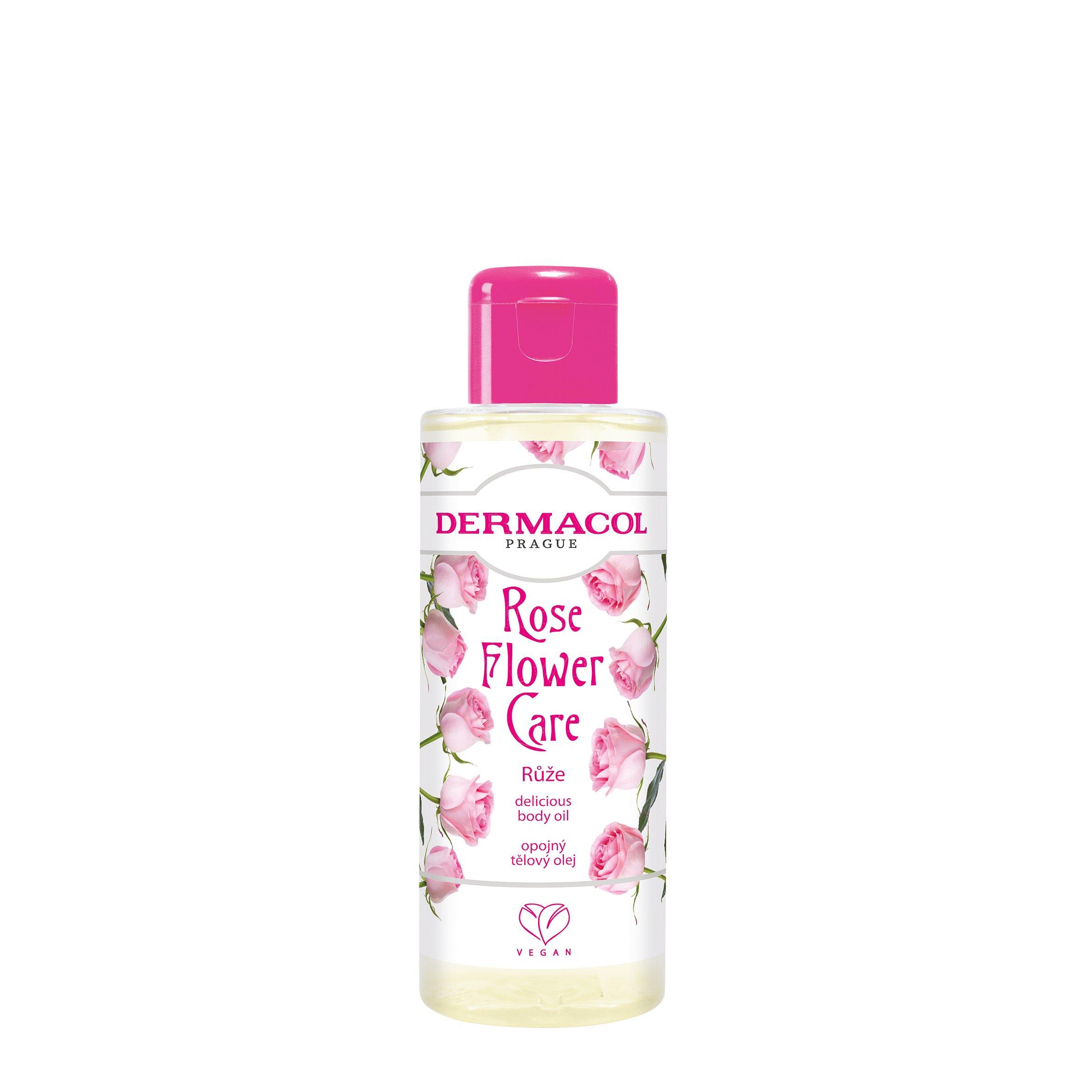 Dermacol Flower care Opojný tělový olej Růže 100ml