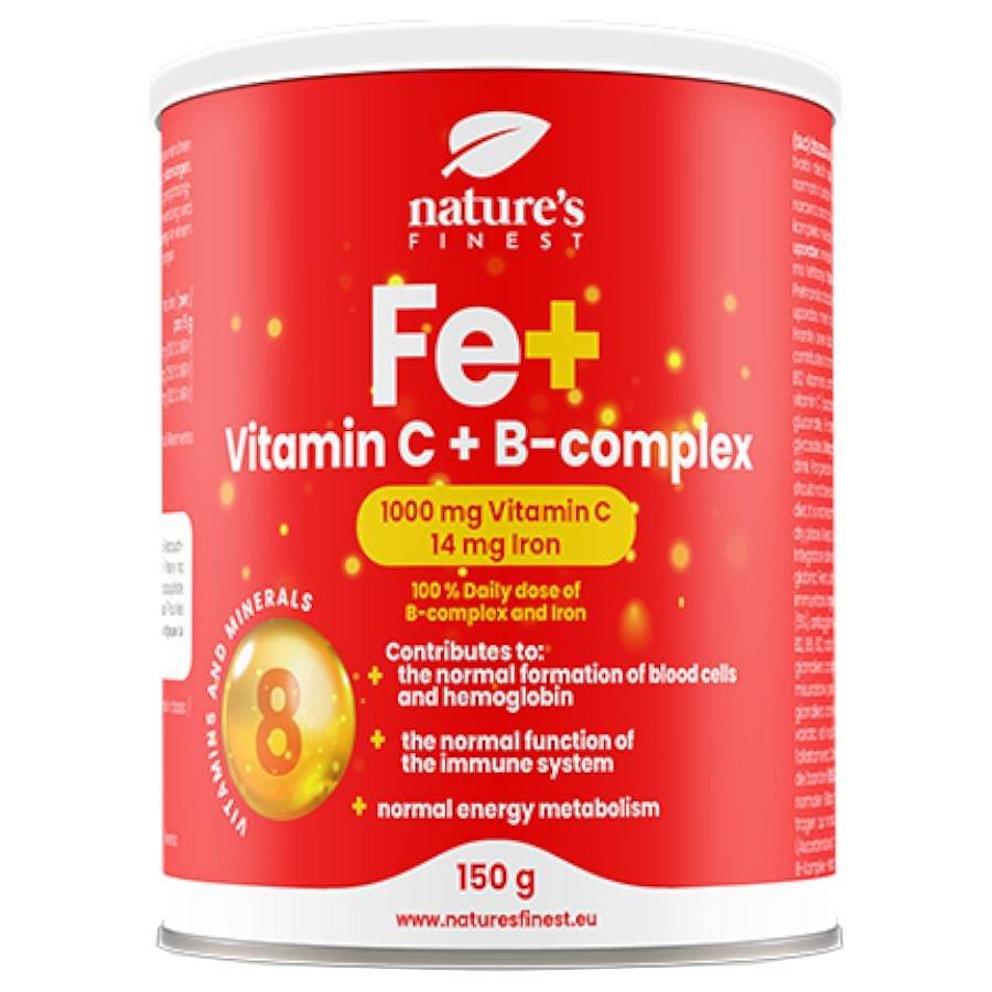 Nutrisslim Železo + Vitamin C + B-Complex 150g