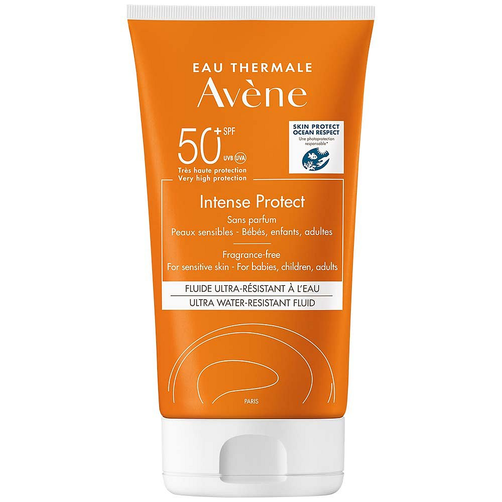 AVENE Intense Protect Ultra voděodolný fluid SPF 50+ 150 ml