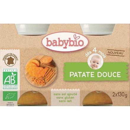 BABYBIO sladké brambory 2x130g