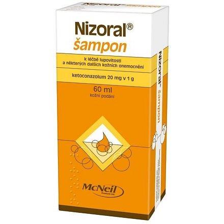 Nizoral 20mg/g šampon 2% 60ml