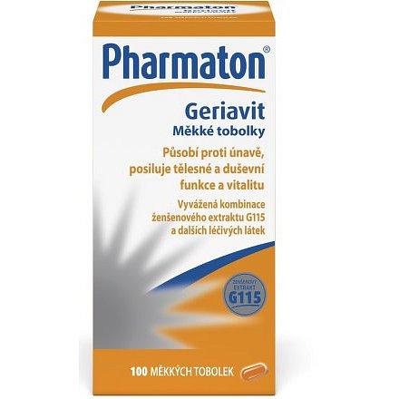 Pharmaton Geriavit cps.mol.100 měkkých tobolek