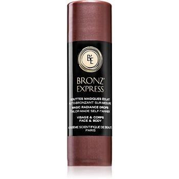 Academie Bronz' Express samoopalovací kapky pro všechny typy pokožky 30 ml