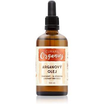 Curapil Organics arganový olej na tělo a vlasy  100 ml