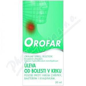 Orofar 2mg/1.5mg/ml orm.spr.sol.1x30ml