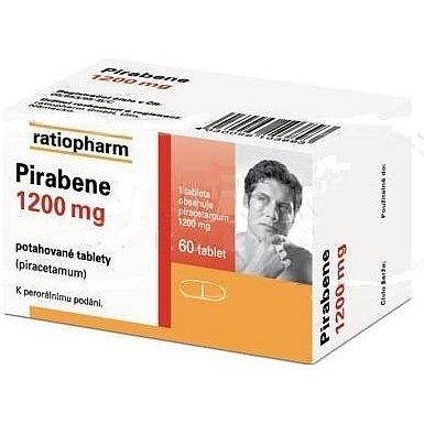 Pirabene 1200 mg perorální tablety film  60 x 1200 mg