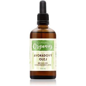 Curapil Organics avokádový olej na tělo a vlasy  100 ml