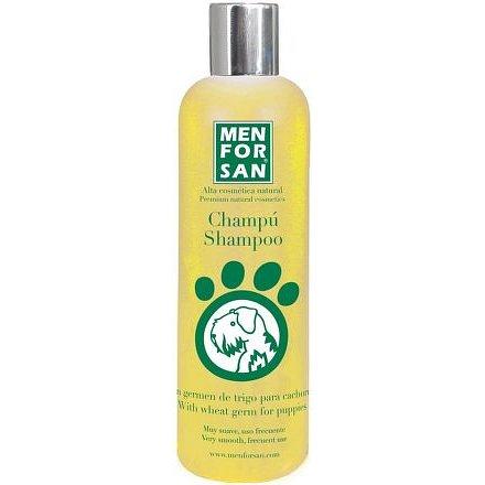 Menforsan Jemný šampon pro štěňata z pšeničných klíčků 300ml