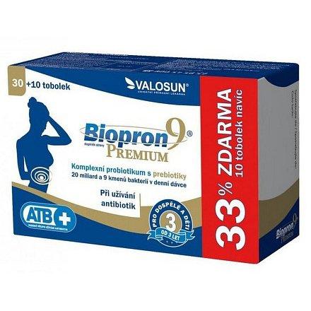 Biopron 9 PREMIUM tobolky 30 + 10 ZDARMA