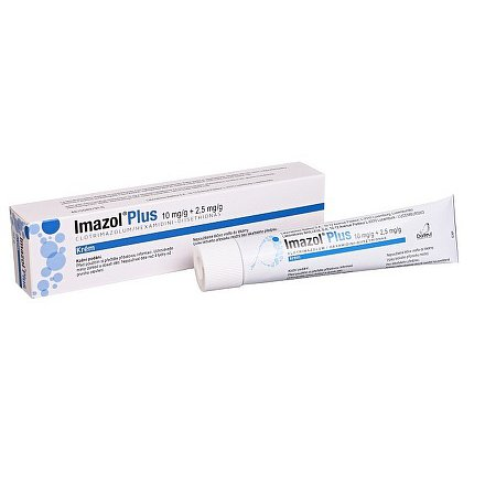 Imazol Plus 10mg/g+2.5mg/g crm.30g