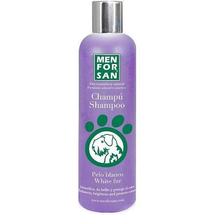 Menforsan Šampon pro psy pro zesvětlení bílé srsti 300ml
