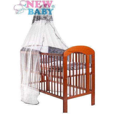 6-dílné ložní povlečení New Baby Zebra 90/120 bílo-černé