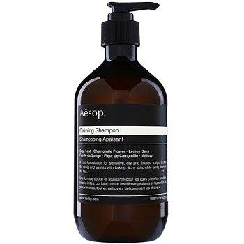 Aēsop Hair Calming zklidňující šampon pro suchou a svědící pokožku hlavy  500 ml
