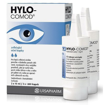 HYLO-COMOD kapky 2x10 ml